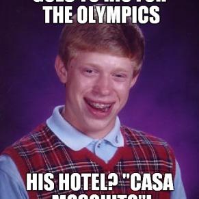 Również Brazylijczycy lubią żartować z poważnych sytuacji. / Brazilians also like to make fun of serious situations.
