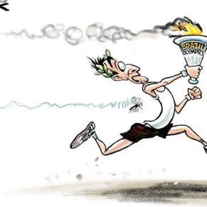 Zika napędza Igrzyska Olimpijskie. / Zika drives the Olympic Games.