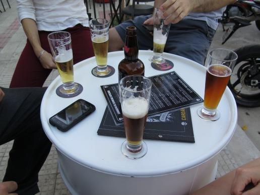 Piwa tak zwane chop i rzemieślicze piwa niemieckie / Beer so-called chopper and handcraft beer