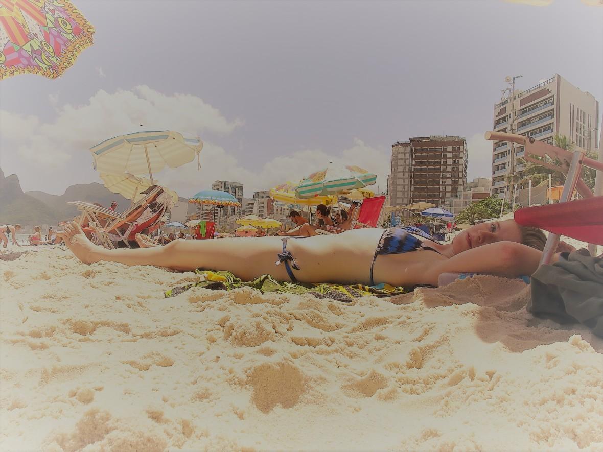 plażing / sunbathe